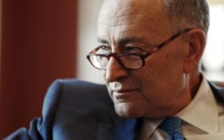 Chuck Schumer: Democrats 'Possibly' Can Derail Trump's Nominees