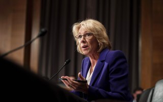 Betsy DeVos Cites Grizzly Bears During Guns-in-Schools Debate