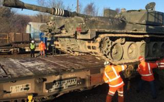 British Tanks Roll on Channel Tunnel Test Run Amid Trump, Russia Fears