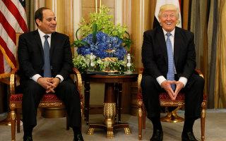 Trump Trip: President Meets With Egypt, Qatar, Bahrain, Kuwait