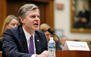 FBI head seems to confirm Russia probes have asked for wiretap warrants