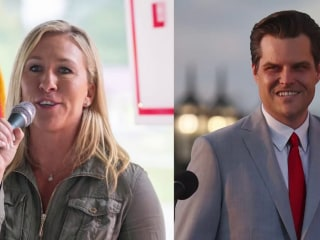 Reps. Gaetz and Greene kick off 'America First Tour' in Florida