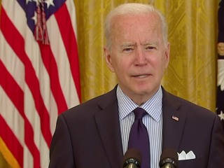 Biden on April jobs report: 'We're still digging out of an economic collapse'