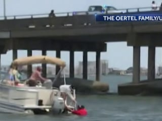 Man speaks out after rescuing 2-year-old from Maryland bay after crash on bridge