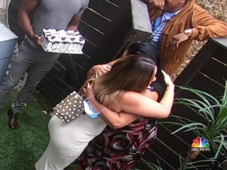Moms surprised with family reunions for Mother's Day