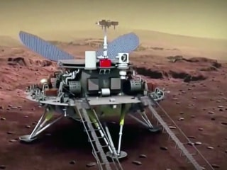 China becomes 2nd country to land rover on Mars