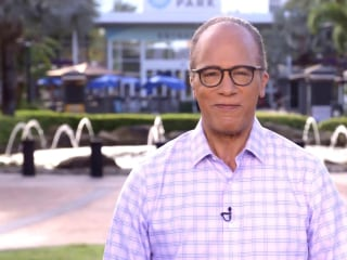 Lester Holt talks about his 'Across America' tour