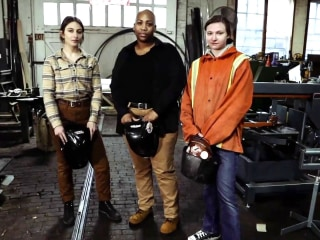 Meet 3 women who are joining the male-dominated world of welding
