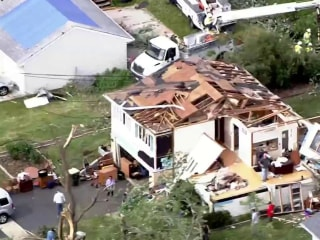 Powerful storms leave path of destruction