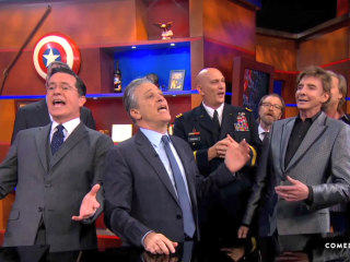 Here's Everyone From the Epic 'Colbert Report' Finale