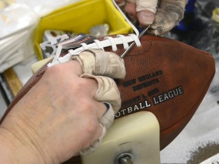 How to Make a Pigskin: Inside the Wilson Football Factory