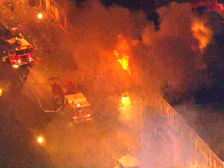 Business Burns in Baltimore