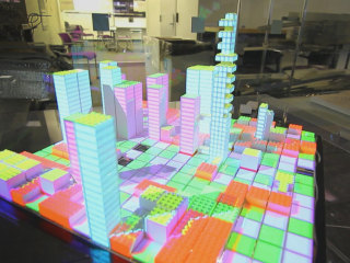 High-Tech Legos Help City Planners Evaluate Designs