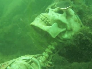 Underwater Skeleton Party Found By Sheriff's Department