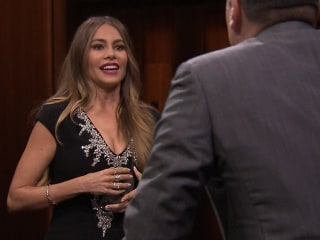 Sofia Vergara's 'Reveal' to Jimmy Fallon