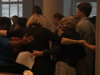 Mourners Gather To Honor Victims in Charleston