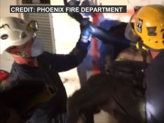 Man Rescued from Chimney by Phoenix Fire Crew