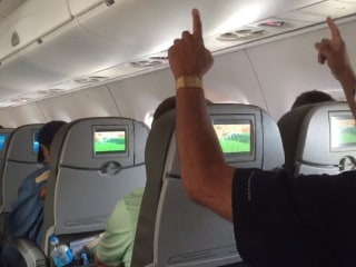 WATCH: Passengers Celebrate USA World Cup Goal at 24,000 Feet