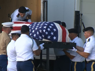 Remains of USS Oklahoma Sailors Exhumed