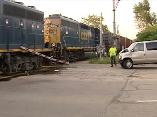One Killed, Nine Injured as Van Hits Train in Ohio