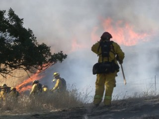 Wildfire Forces Evacuations in California