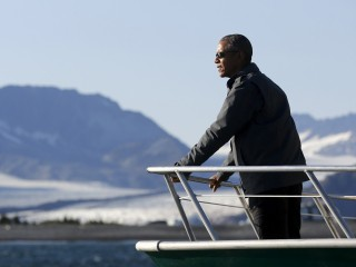 Obama Witnesses Climate Change in Remote Alaskan Towns