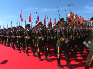 China Military Parade Celebrates World War II Victory