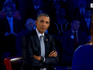 Obama at Town Hall: I'm 'Not Coming for Your Guns'
