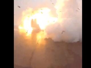 Space X Has Fiery Landing