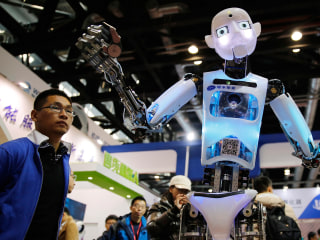 Take a Look Around China's Robotic Showcase