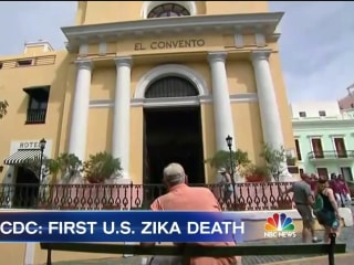 First Zika-Related Death in U.S. Reported in Puerto Rico