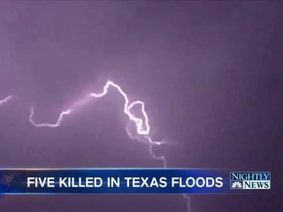 Texas Grandmom, Four Young Kids Swept Away in Flooding