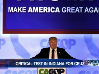 Indiana Race Could Seal the Nomination for Trump, Clinton