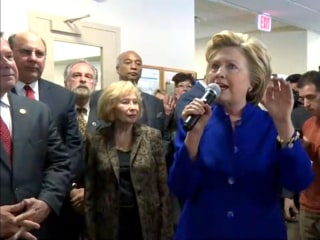 Clinton Makes Final Push for New York Votes
