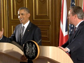 Obama, Cameron Share Laugh Over Ping Pong Defeat