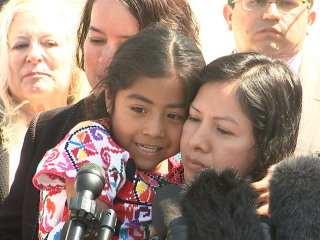 Sofía Cruz Once Hugged the Pope, and Now She Calls for Immigration Reform