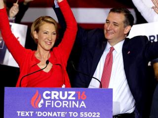 Donald Trump hammers Ted Cruz-Carly Fiorina ticket