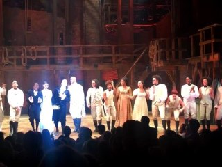Cast of 'Hamilton' Perform Broadway Tribute to Prince