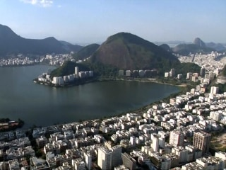 A Bird's-Eye View of Rio's Olympic Venues and Landmarks