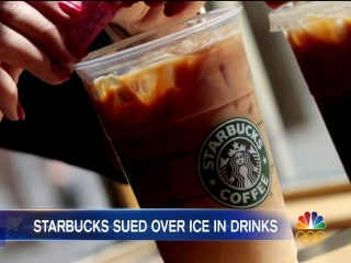 Starbucks Being Sued for $5 Million Over the Amount of Ice in Drinks