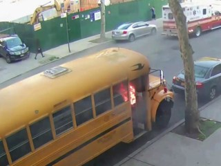 Boy, 11, Faces Arson and Hate Crime Charges in Bus Fire