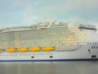 World's Largest Cruise Ship Completes Maiden Voyage