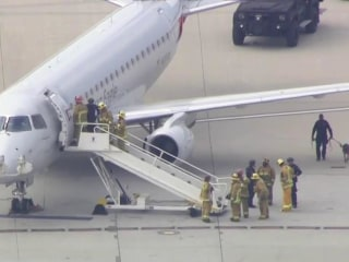 Threat Made Against Plane at LAX Airport