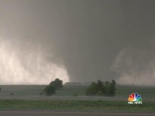 Severe Storms and Tornadoes Tear Through Plains States