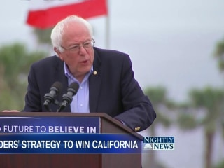 Fight to the Finish: Sanders, Clinton in Tight California Primary Race