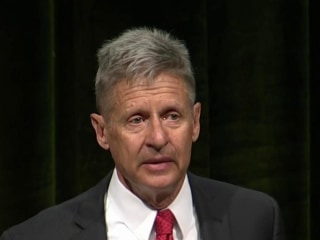 Libertarians choose Gary Johnson as nominee
