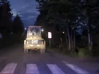Man in Stolen Front End Loader Leads Police on Chase