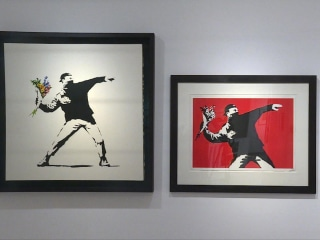 Admit One: Inside Latest Banksy Art Exhibit in Rome