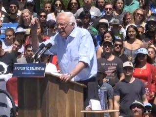 Sanders: We're Strongest Against Trump