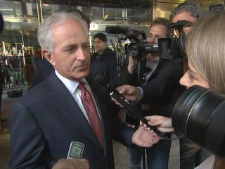 Corker Downplays VP Talk After Trump Meeting